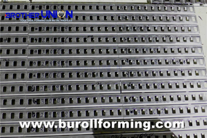 Press & Punch in HOLE AND STAMP Roll Forming Process10