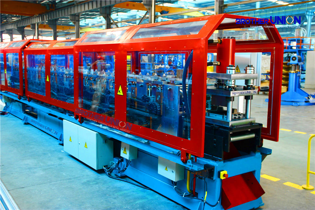 Roll Forming Machine for Hat Channel of Steel Building & Construction