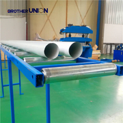 Downspout Pipe Roll Forming Machine for Rail Gutter System