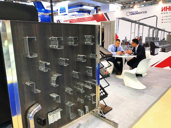 Brother Union Roll Forming Machines in METAL EXPO, Russia